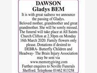 Gladys Dawson photo