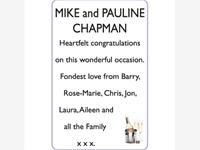 MIKE and PAULINE CHAPMAN photo