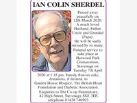IAN COLIN SHERDEL photo