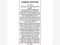 Norma Potter photo