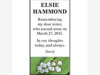 ELSIE HAMMOND photo