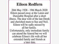 Eileen Redfern photo