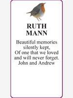RUTH MANN  photo