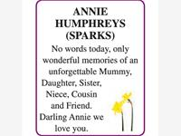 ANNIE (SPARKS) HUMPHREYS photo
