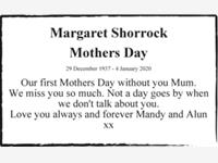 Margaret Shorrock photo