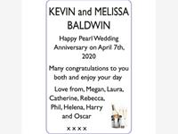 KEVIN and MELISSA BALDWIN photo