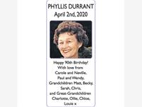PHYLLIS DURRANT photo