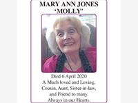 MARY ANN JONES photo