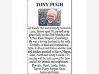 TONY PUGH photo