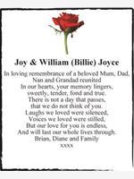 Joy & William (Billie) Joyce photo