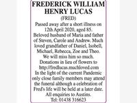 FREDERICK WILLIAM HENRY LUCAS FRED photo