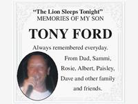Tony Ford photo