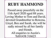 RUBY HAMMOND photo