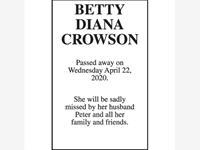 BETTY DIANA CROWSON photo