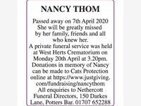 NANCY THOM photo