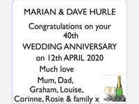 Marian and Dave Hurle photo