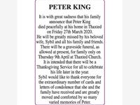 PETER KING photo