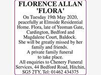 FLORENCE ALLAN photo
