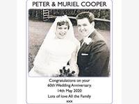 PETER & MURIEL COOPER photo