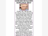 GERARD BENJAMIN RAWLINGS 'BEN' photo