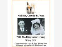 Joyce and Claude Nicholls photo