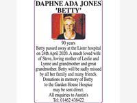 DAPHNE ADA JONES 'BETTY' photo