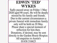EDWIN 'TED' WYKES photo