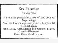Eve Pateman photo