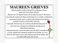 MAUREEN GRIEVES photo