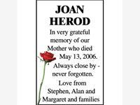 JOAN HEROD photo
