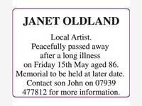 JANET OLDLAND photo