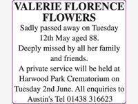 VALERIE FLORENCE FLOWERS photo