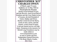 CHRISTOPHER CHARLES OWEN 'KIT' photo