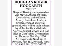 DOUGLAS ROGER HOGGARTH photo