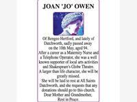 JOAN OWEN photo
