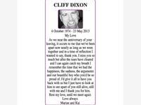 CLIFF DIXON photo
