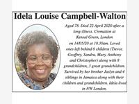 IDELA LOUISE CAMPBELL-WALTON photo