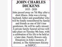 JOHN CHARLES DICKENS photo