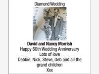 DAVID and NANCY MORRISH photo