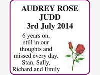 AUDREY ROSE JUDD photo