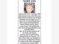 MARY ANN HUGGINS photo