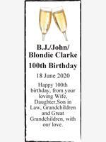 B.J./John/Blondie Clarke photo