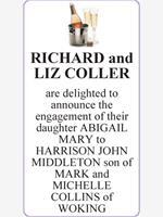 RICHARD and LIZ COLLER photo