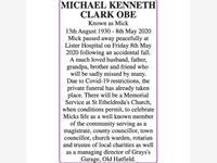 MICHAEL KENNETH CLARK OBE photo