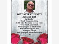 Roy Satterthwaite photo