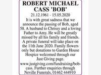 ROBERT MICHAEL CASS 'BOB' photo