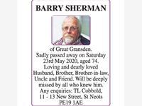 BARRY SHERMAN photo