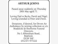 Arthur John photo