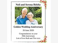 Neil and Serena Helsby photo
