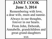 Janet Cook photo
